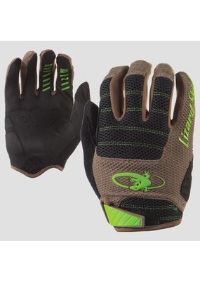 LIZARD SKINS Lizard Skins Monitor AM Gloves: Olive/Jet Black 2XL