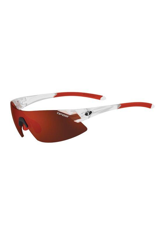 TIFOSI OPTICS Tifosi Podium XC Interchangeable Lens Sunglasses Matte Crystal