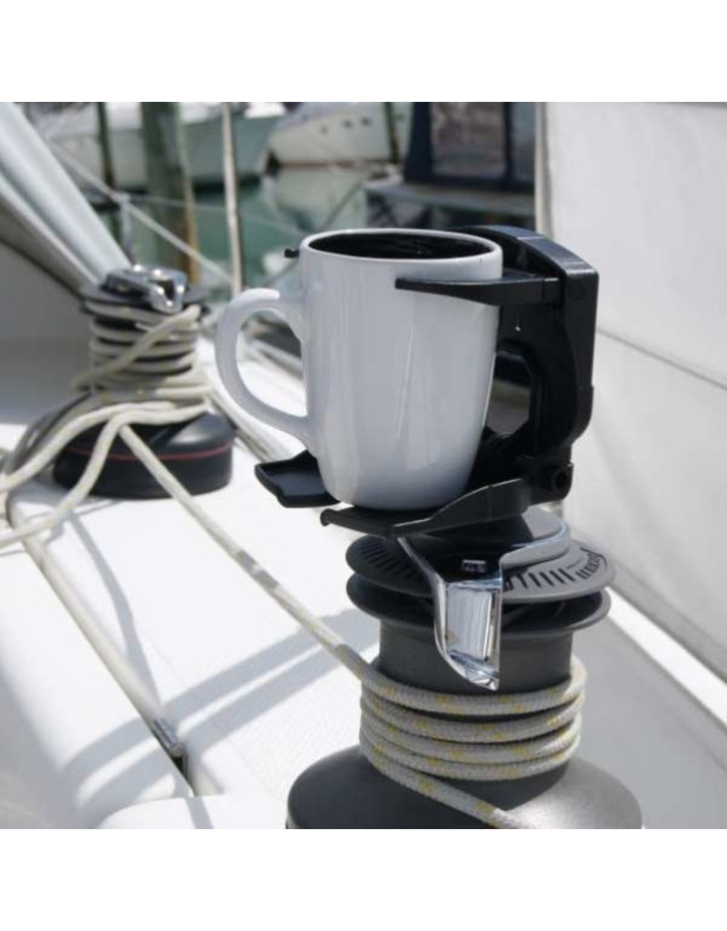 YAKGEAR Railblaza CupClam Rail Mount Cup Holder- White