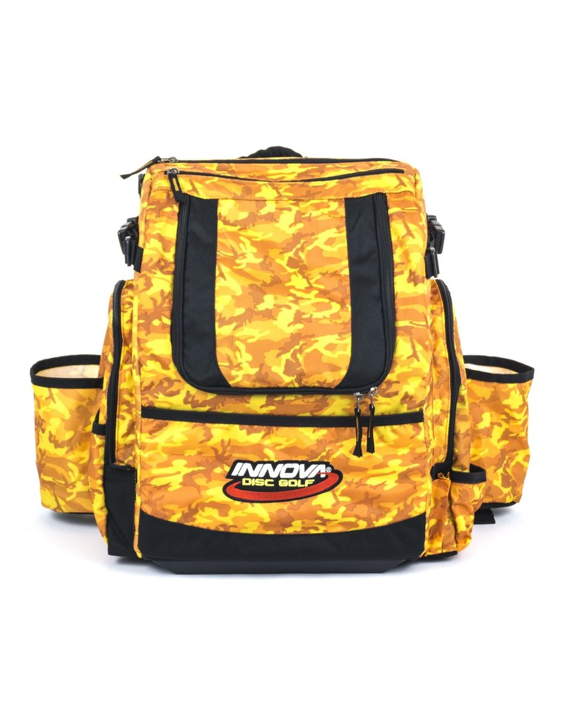 Innova Innova Disc Golf Hero Pack Disc Golf Bag Orange Camo