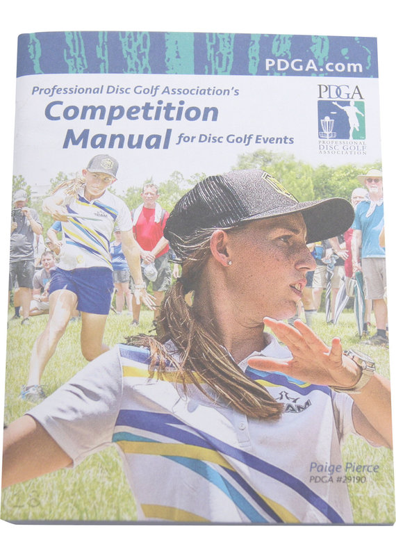 PDGA Disc Golf Official Competition Manual Rule Book