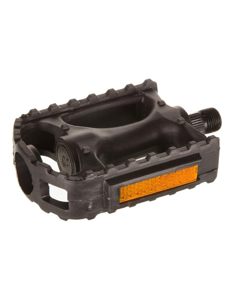 EVO Evo Swivel Resin Bicycle Pedal - 9/16 inch, Black - Pair - FP-806