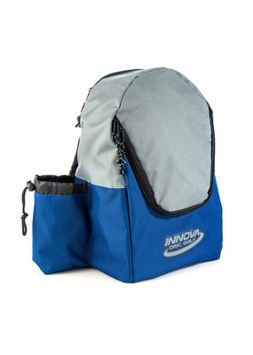 Innova Innova Disc Golf Discover Back Pack Disc Bag Blue/Grey