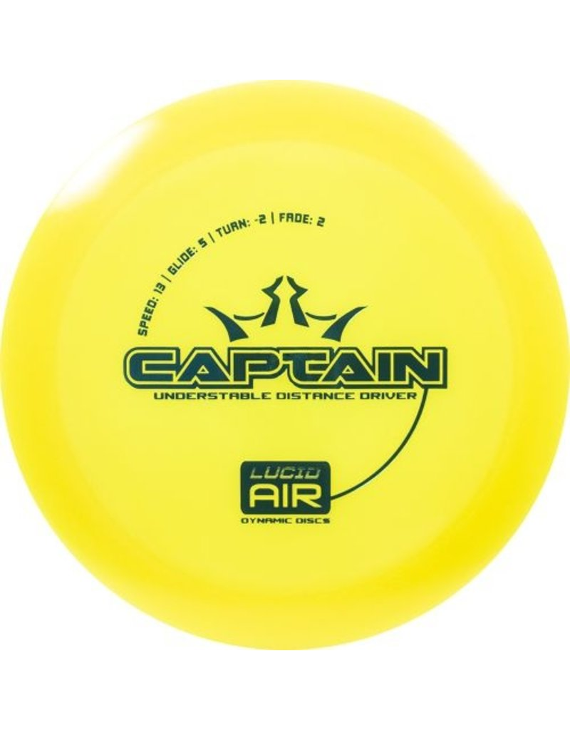 Dynamic Discs Dynamic Discs Lucid Air Captain Golf Disc