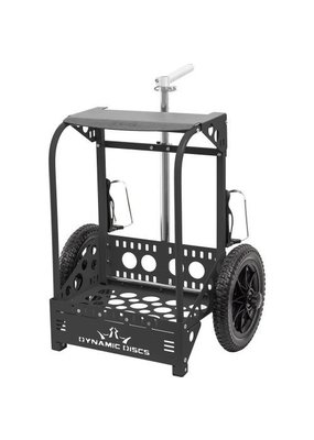 Dynamic Discs Dynamic Discs Backpack Cart by ZUCA Large Black