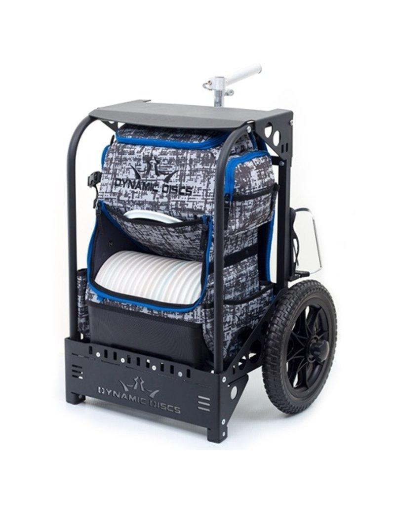 Dynamic Discs Dynamic Discs Backpack Cart by ZUCA Large Black