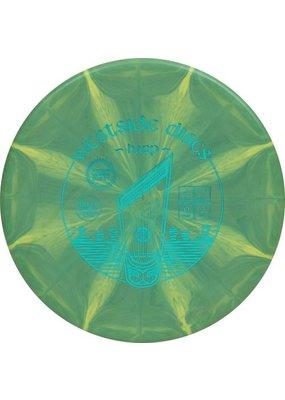 Westside Discs Westside Discs Origio Burst Harp Gold Disc