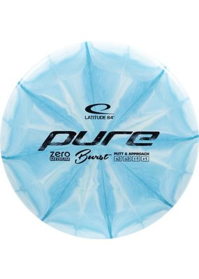 Latitude 64 Latitude 64 Zero Medium Burst Pure Golf Disc