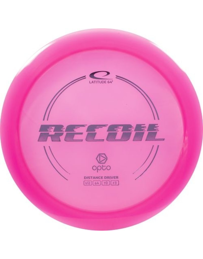 Latitude 64 Latitude 64 Opto Recoil Distance Driver Golf Disc