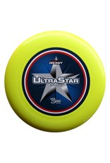 Discraft Discraft Ultra Star Supercolor Yellow Center Print Ultimate Disc