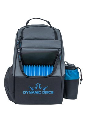 Dynamic Discs Dynamic Discs Trooper Disc Golf Backpack Gray Blue