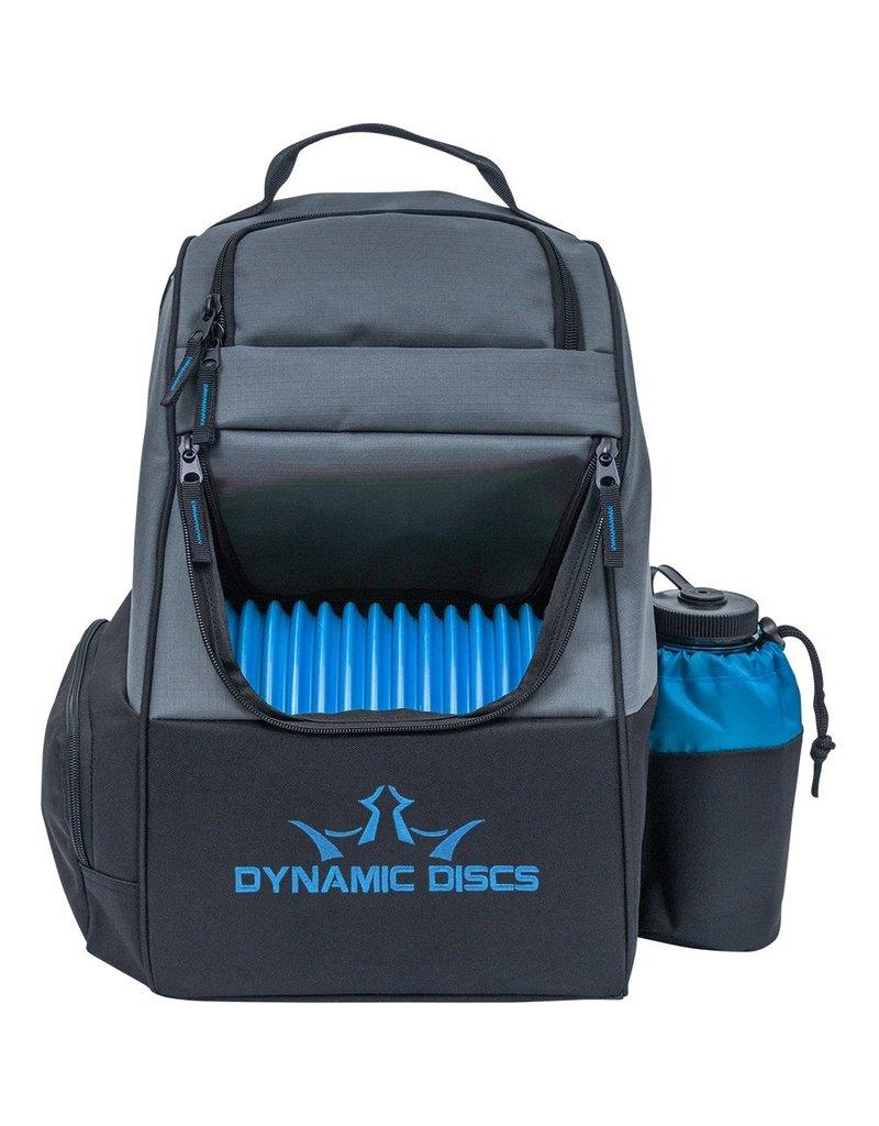Dynamic Discs Dynamic Discs Trooper Disc Golf Backpack Black Gray Blue