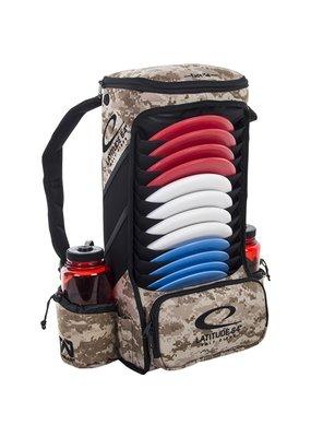 Latitude 64 Latitude 64 Easy Go Disc Golf Backpack Desert Camo