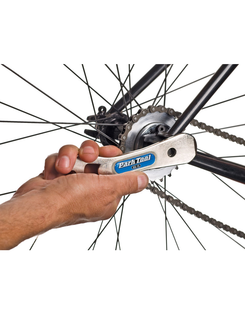 Park Tool Park Tool, SS-15, Single Speed Spanner, 15mm pedal wrench, 15mm socket, tire lever and bottle opener