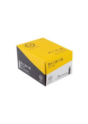 SUNLITE Standard Schrader Valve Tubes 20x1.35-1.50 SV (406x37) FFW38mm
