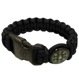Liberty Mountain Survival Bracelet w/ Compass