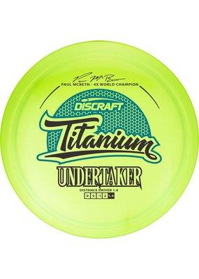 Discraft Discraft Paul McBeth Titanium Undertaker Golf Disc
