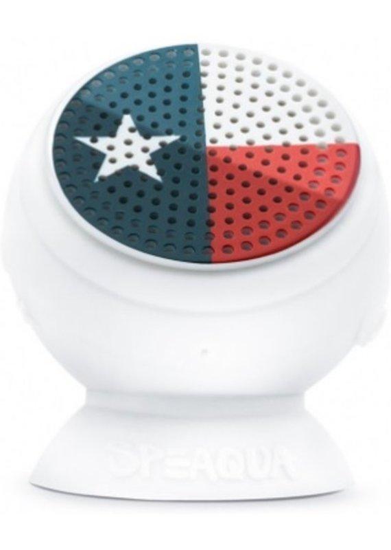 Speaqua Sound Co. Speaqua The Barnacle Texas Flag Blue Tooth Speaker