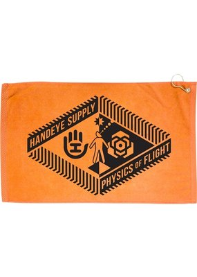 Dynamic Discs Handeye Supply Co. Staircase Orange Disc Towel