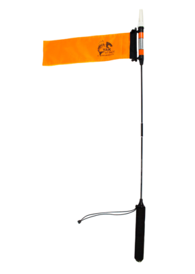 YAK ATTACK YakAttack VISICarbon Pro Kayak LED Light and Flag Combo