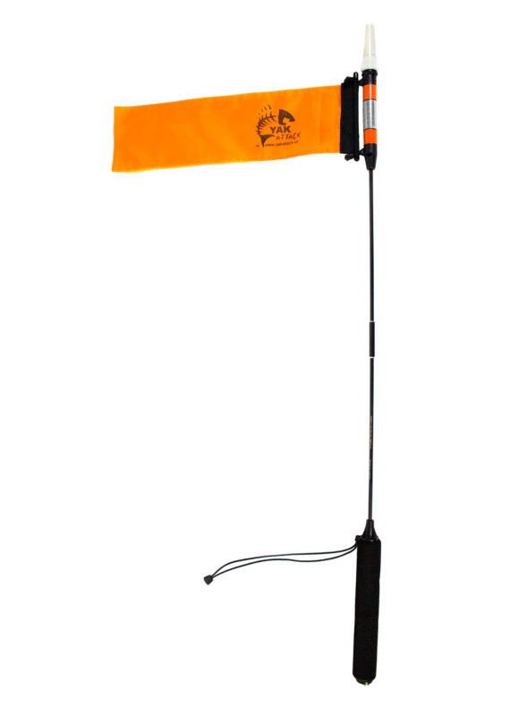 YAKATTACK YakAttack VISICarbon Pro Kayak LED Light and Flag Combo