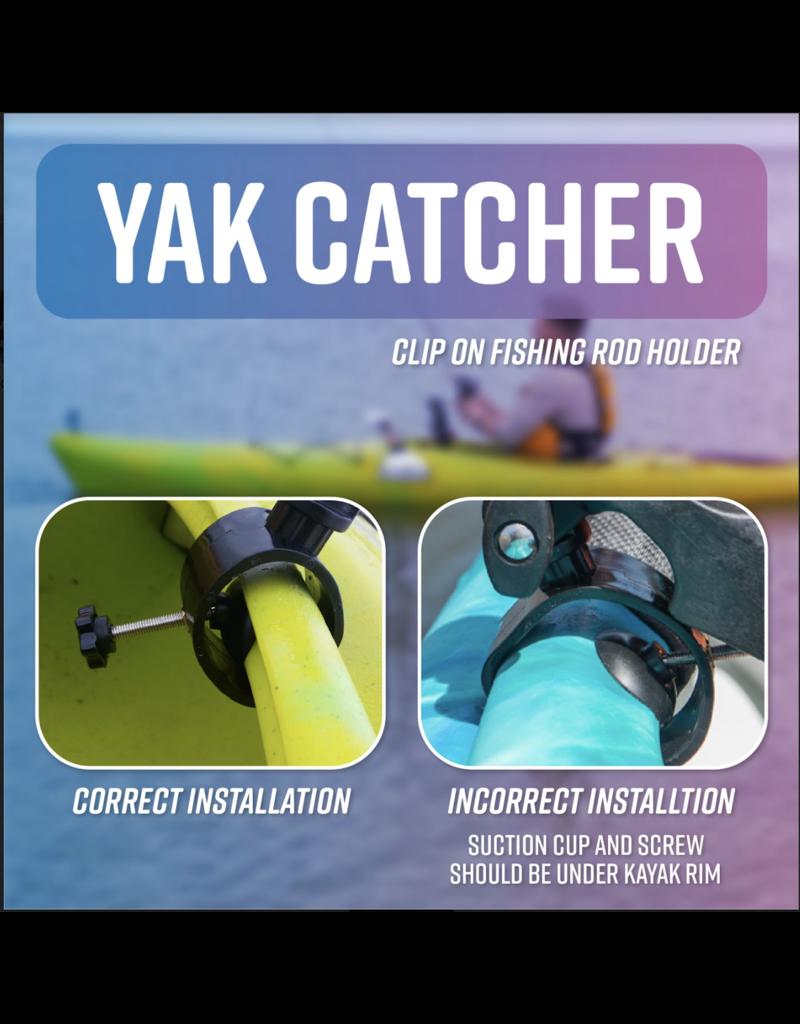 Yakcatcher YakCatcher Clip-On Fishing Rod Holder