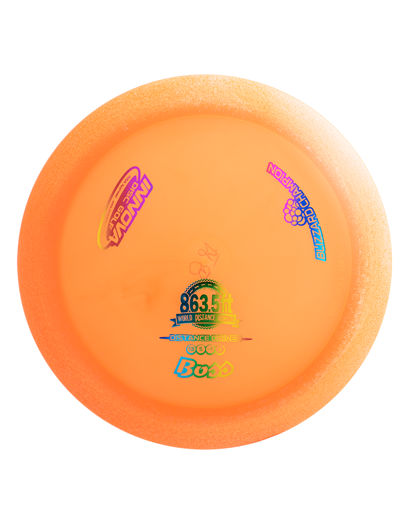 Innova INNOVA BLIZZARD CHAMPION BOSS DISTANCE DRIVER GOLF DISC