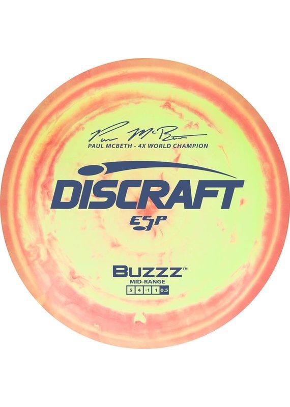 Discraft Discraft Paul McBeth ESP BUZZZ Mid Range Golf Disc