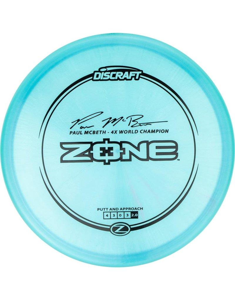 Discraft Discraft Paul McBeth Signature Z Line Zone Putt and Approach Golf Disc