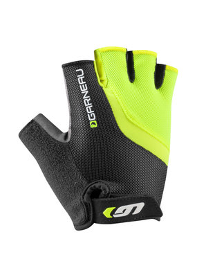 Louis Garneau Mens Bio-gel RX-V Cycling Gloves Bright Yellow