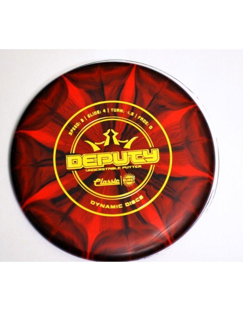 Dynamic Discs Dynamic Discs Classic Blend Burst Deputy Golf Disc