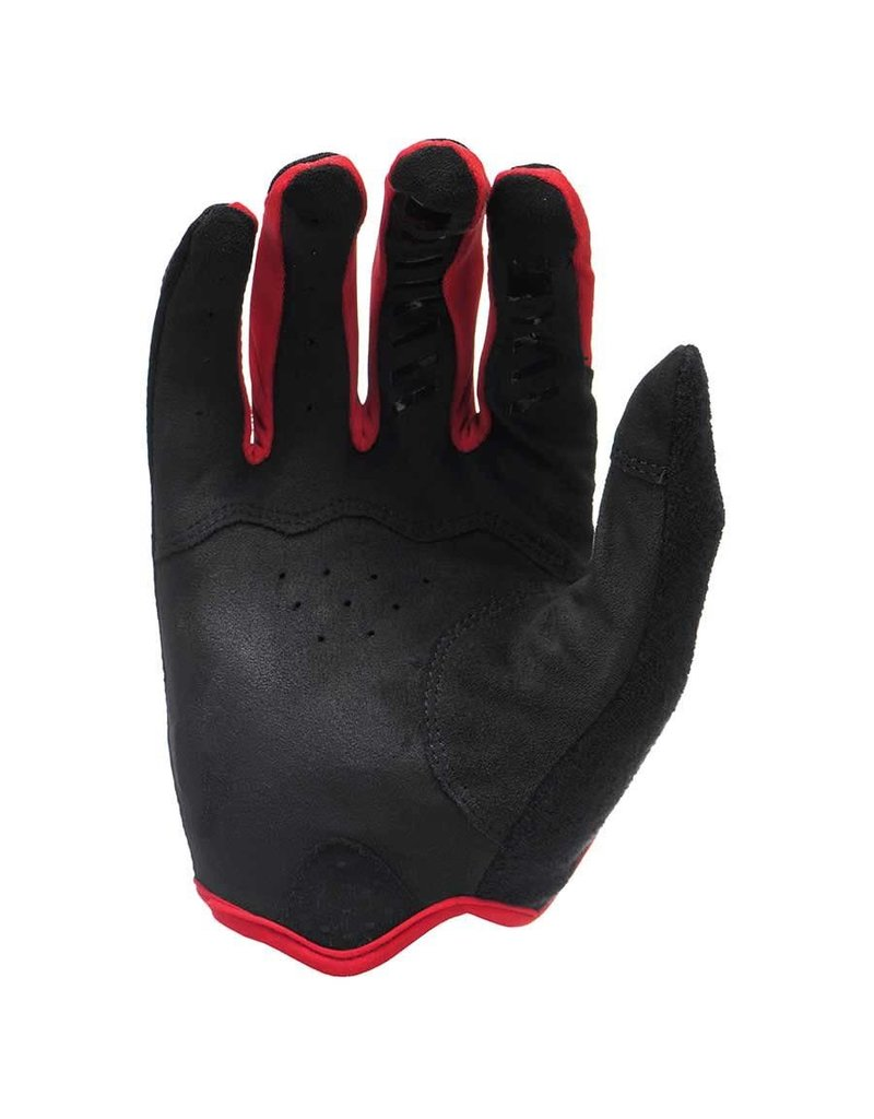 LIZARD SKINS Lizard Skins Monitor Bicycle Gloves Long Fingers Jet Black/Crimson  XL