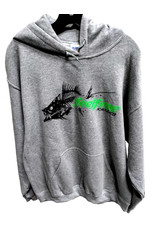 Feelfree Feel Free Bonefish Hoodie Sweatshirt Grey