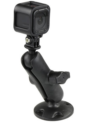RAM MOUNTS RAM MOUNTS GO PRO Action Camera Mounting Kit Round Base