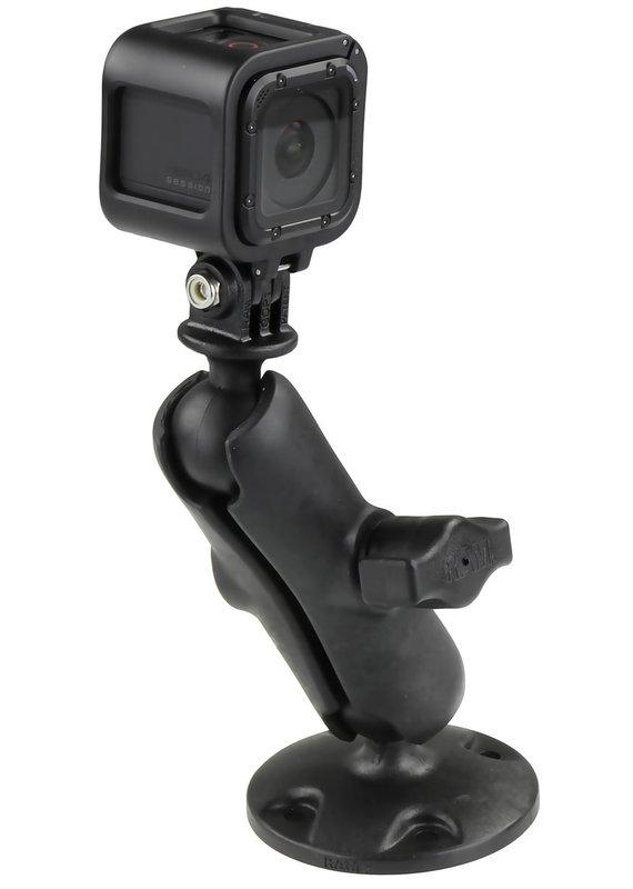 RAM MOUNTS RAM MOUNTS GO PRO Action Camera Mounting Kit Round Base