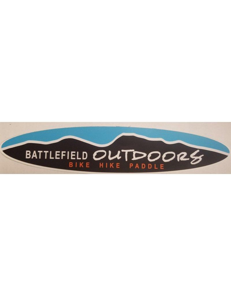 Battlefield Outdoors Sticker Small