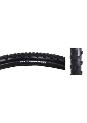 CST PREMIUM TIRES CST PREMIUM CHRISCROSS 700x32 BLACK WIRE BEAD