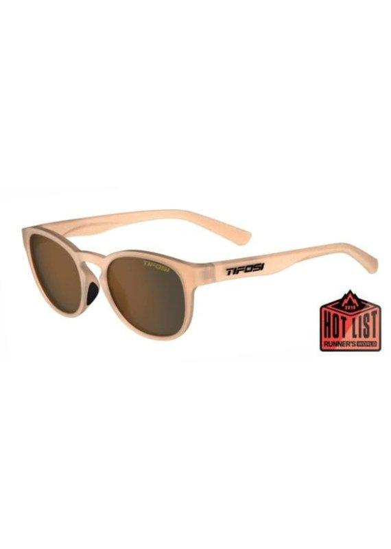 Tifosi Tifosi Svago Sunglasses, Satin Crystal Brown Single Lens