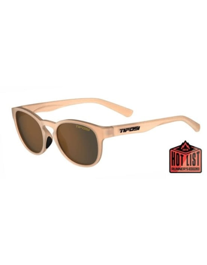 Tifosi Tifosi Svago Sunglasses, Satin Crystal Brown Single Lens
