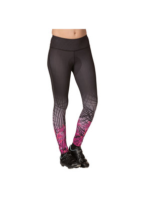 Terry Psychlo Tight Black/Pollen/Violet X Large