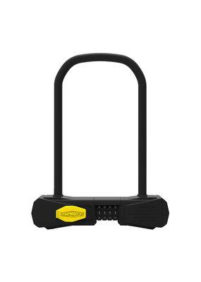 SUNLITE Defender Bicycle U-Lock Combo Standard 4.5x9