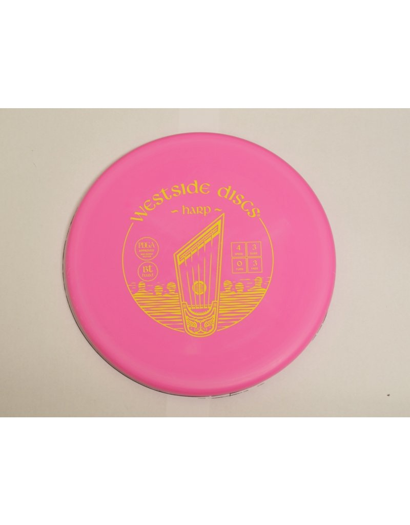 Dynamic Discs Westside Discs BT Hard Harp Putt and Approch Golf Disc