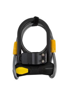 SUNLITE Defender D3 Bicycle U-Lock Mini + Cable 3.5x5.5