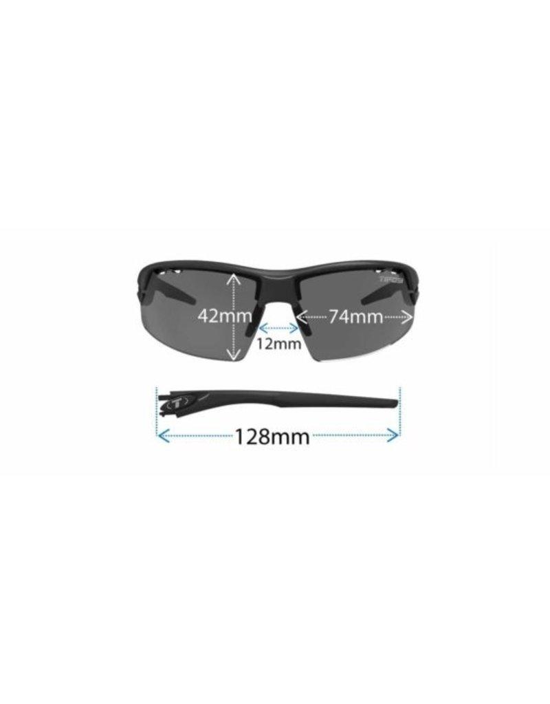 Tifosi Tifosi Crit, Matte Smoke Polarized Sunglasses