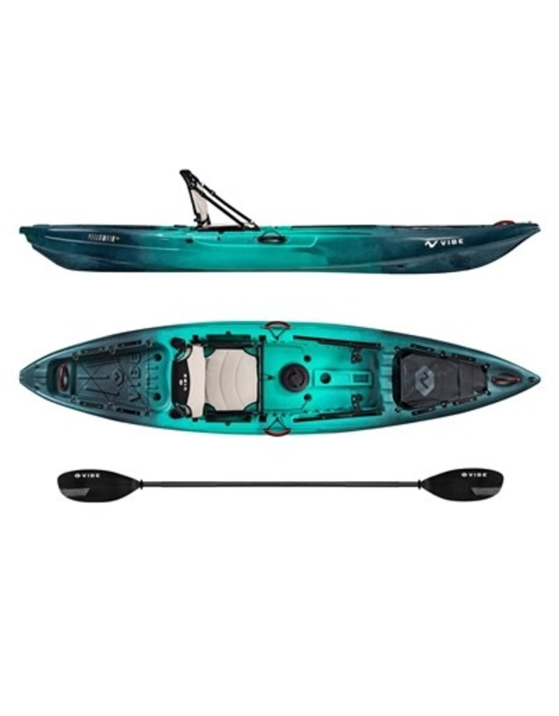 Vibe Vibe Yellowfin 120 Fishing Kayak Package With Journey Paddle