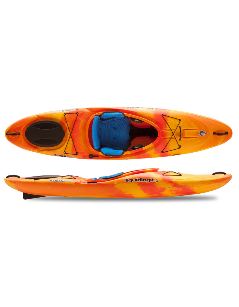 Liquid Logic Liquid Logic Remix XP 9 Cross Over White Water Kayak