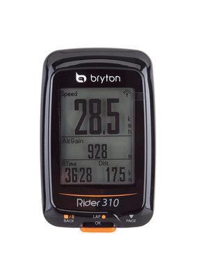 BRYTON BRYTON RIDER 310T BICYCLE COMPUTER GPS ANT+/BLUETOOTH w/HR-MONITOR/CADENCE-SENSOR BK