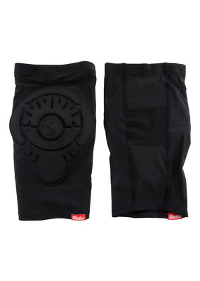 THE SHADOW CONSPIRACY BMX Bicycle PAD SET The Shadow Conspiracy KNEE PADS INVISALITE MD BK