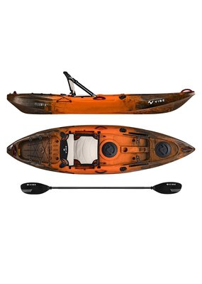 Vibe 2018 Vibe Yellowfin 100 Fishing Kayak Wildfire Camo
