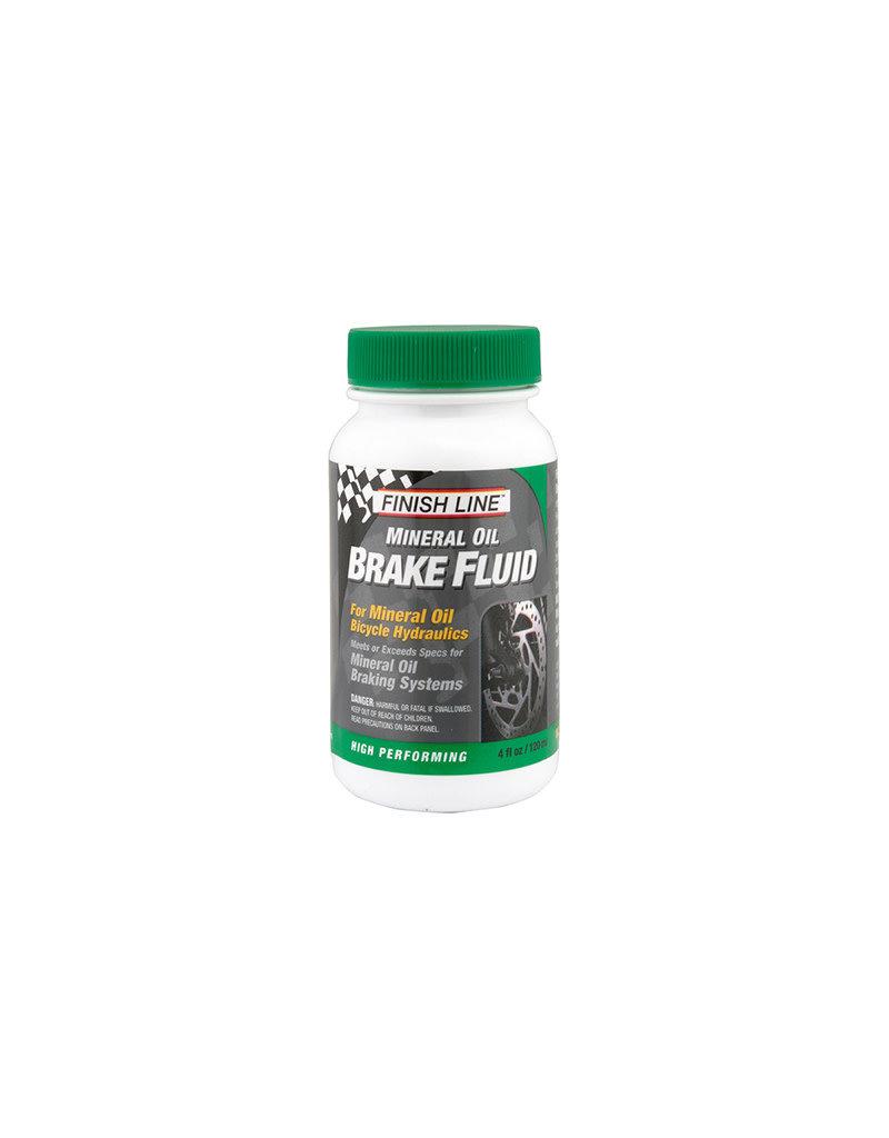 BRAKE FLUID F-L HYD MINERAL OIL 4oz 6/cs
